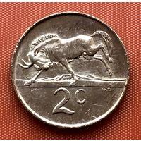 108-18 ЮАР, 2 цента 1987 г.