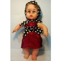 С РУБЛЯ!!! Кукла 36см, мягконабивная, ГДР, 70-80 -е годы.