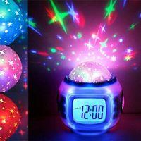 Музыкальный проектор звездного неба, часы