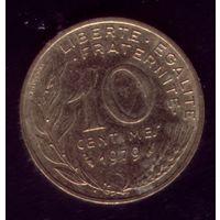 10 сантимов 1979 год Франция
