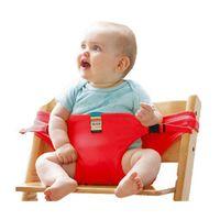 Детское обеденное кресло, ремень безопасности, новое, красное