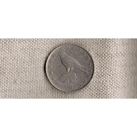 Венгрия 50 форинтов 1996/фауна/птица(Nw)