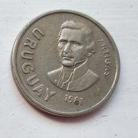 Уругвай 10 новых песо, 1981 5-3-14