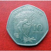 10 рупий 1997 года Маврикий - из коллекции