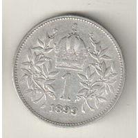 Австрия 1 крона 1899