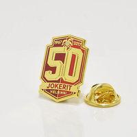 """Значок """"50 лет ХК """"Йокерит"""" Хельсинки."""