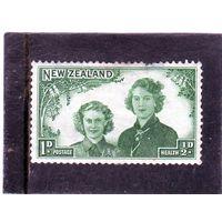 Новая Зеландия. Ми-278. Королевские принцессы 1 + 1/2. 1944.