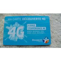 Пластиковая карточка 4G. распродажа