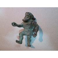 Статуэтка Гном-рудакоп(копанина).Бронза.19 век.Н=8,5 см.
