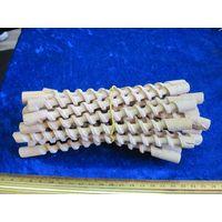 Бигуди деревянные советские 20 шт(длинна 17 см).