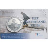 Нидерланды 5 евро, 2010 Ватерланд