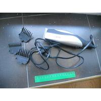 Машинка для стрижки волос CENTEK с насадками, требует регулировки.