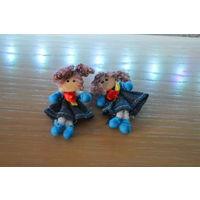 Игрушка (Две девочки-куклы) _Лот #И056