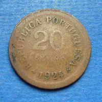 Португалия 20 центаво 1924