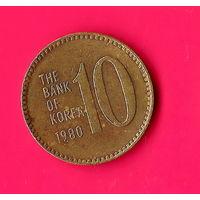 11-22 Южная Корея, 10 вон 1980 г.