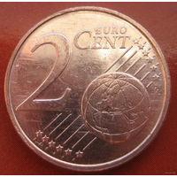 Люксембург 2 евро цента 2002г.
