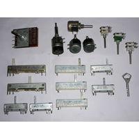 Резисторы СП3-23г, СП3-30, СП3-33 (сп)