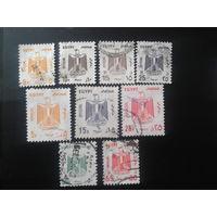 Египет 1985-1993 Герб, служебные марки