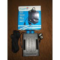 TrustFire EB03 портативный водонепроницаемый корпус для аккумулятора IP67 с поддержкой USB интерфейса 6x18650 батарея для велосипеда LED Light
