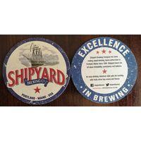 Подставка под пиво Shipyard /Великобритания/