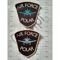 Шевроны AIR FORCE POLAR (на одном штамп жильбел, цена за пару)