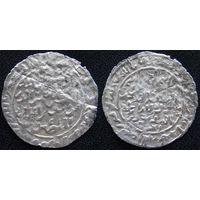 YS: Расулиды, Аль-Музаффар Юсуф I, 13 век, дирхем ок. 1263 (661AH), серебро (2)