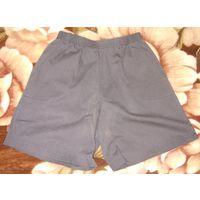 Шортики из тонкого джинса р.48