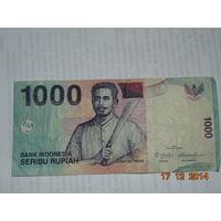 Индонезия 1000 рупий  2013 г.