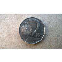 Чехия 2 кроны, 2004г. (sb-1)