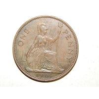 Великобритания 1 пенни 1964