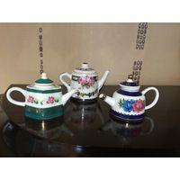 Чайники миниатюра фарфор Англия