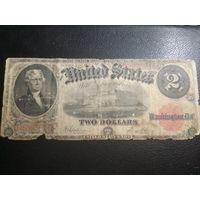 Набор долларов США