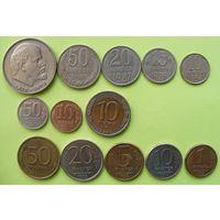 Лот монет СССР и России