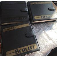 Футляр чехол сумка хранение CD СД дисков германия винтаж, 6 штук, 145 x 145 мм