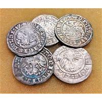 5 ПОЛУГРОШЕЙ ПОЛЬСКОГО КОРОЛЕВСТВА СИГИЗМУНД I СТАРЫЙ (1506-1548) - ПО БЛИЦУ ПОЧТОЙ БЕСПЛАТНО !