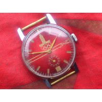 Часы ЗИМ ОЛИМПИАДА 80 МОСКВА , СССР 1980-й год, номер 001916