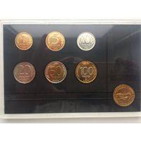 Годовой набор монет России 1992 год ЛМД