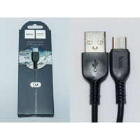 1868 Кабель hoco X20 USB type-C 1 м, чёрный
