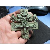 Крест - распятие начало19 века. Наперстный