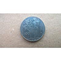 Италия 100 лир, 1979г. **