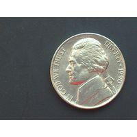 5 центов США 1990г