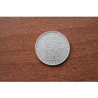Швеция 1 крона 1958 (серебро)