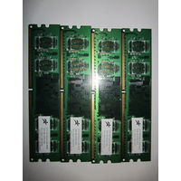 Комплект 4xDDR2-533 DMM32T64UK 256 mb (для первых DDR MB)