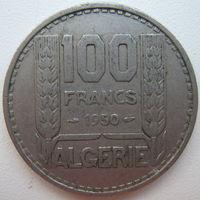 Алжир 100 франков 1950 г. (g)