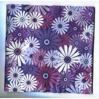 Салфетка для декупажа. Летняя, ромашки цветы. 33 х33 см
