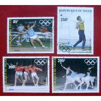Нигер. Спорт. ( 4 марки ) 1983 года.