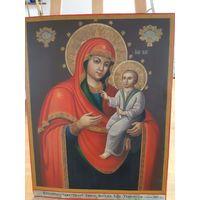 Икона   Божией  Матери Тихвинской