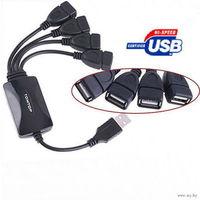 USB Hub на 4 порта  для ноутбука или обычного PC