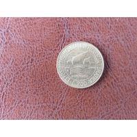 200 лир 1992 Италия ( Выставка марок в Генуе)