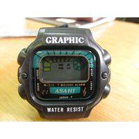 Часы Asahi Graphic электронные/3